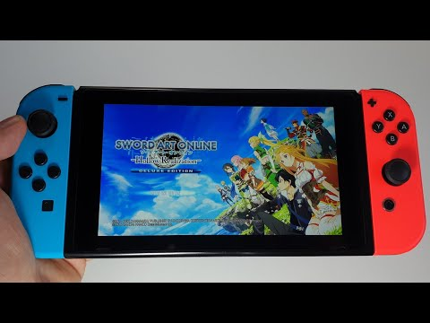 SWORD ART ONLINE: Hollow Realization Deluxe Edition Nintendo Switch gameplay