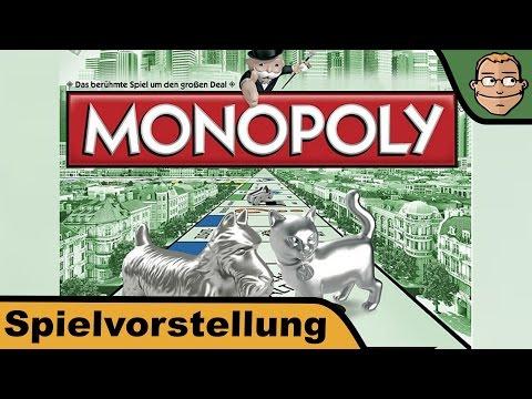 Monopoly classic - Brettspiel - Spiel - Anleitung