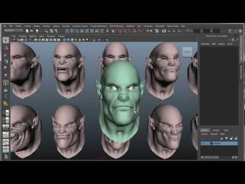 BlendShape script - смотреть онлайн на Hah Life
