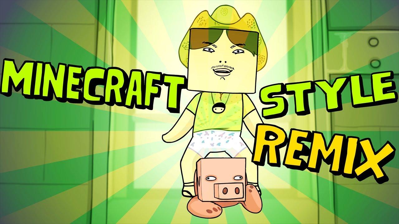 Minecraft Style Remix