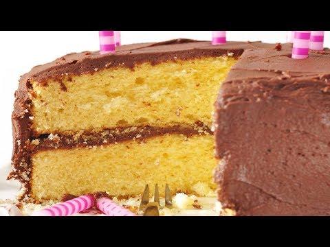 Video Yellow Butter Cake Recipe Demonstration - Joyofbaking.com