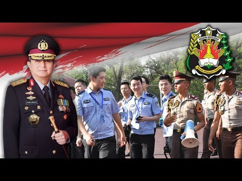 KUNJUNGAN DELEGASI PPSUC ( People's Public Security University of China ) DI AKPOL PART01