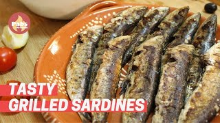 Grilled Sardines 🐟