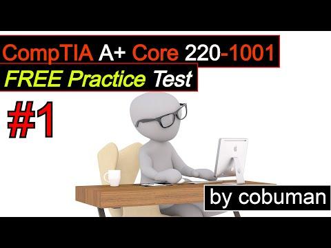 CompTIA A+ Core 220-1001 Practice Test