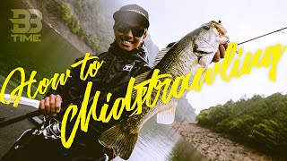 【BBTIME バス釣り】雨の池原ダムをミドストで中層攻略|加木屋守
