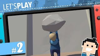 ✪ Let's Play Human Fall Flat (Switch) (deutsch) ✪  #2: RIEEEEESIGES LEVEL Mit Meinem HUMAN