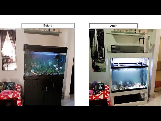 Home Aquaponics 01 DIY Aquarium Stand