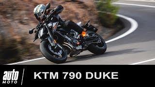 KTM 790 DUKE ESSAI POV Auto-Moto.com