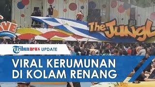 Viral Video Ratusan Orang Penuhi Kolam Renang The Jungle Bogor, Pengelola Didenda Rp10 Juta