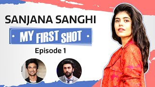Dil Bechara actress Sanjana Sanghi FIRST SHOT was with Ranbir Kapoor & not Sushant Singh Rajput
