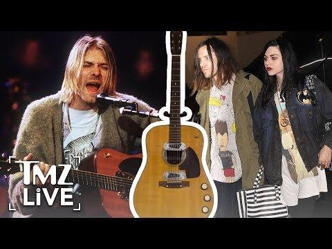 Kurt Cobain: Daughter Loses Famous Guitar | TMZ Live