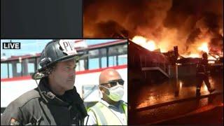 Fisherman's Wharf Pier 45 Fire: SFPD News Conference
