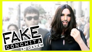 FAKE Conchita Wurst BUSTED in Spain