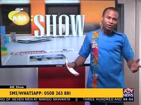 AM Show Intro on JoyNews (20-7-18)