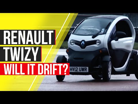 Renault Twizy – Will It Drift?