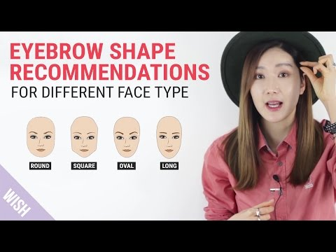 Perfect Eyebrow Shapes for Your Face | Wishtrend TV