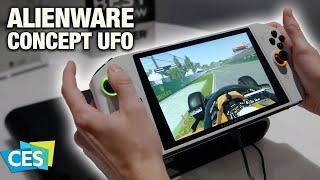 Alienware Concept UFO : j'ai testé la Nintendo Switch de DELL