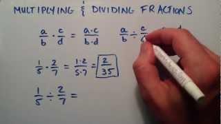 Multiplying and Dividing Fractions , Intermediate Algebra , Lesson 7