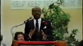 Willie Brown speaks at OMI