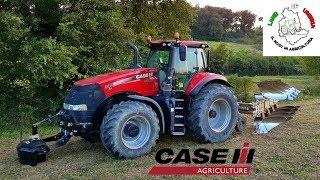 CASE IH Magnum 340 CVX - Plowing ER.MO 108 Aratura 2018