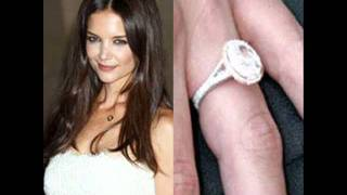 Celebrity Katie Holmes's Engagement Ring
