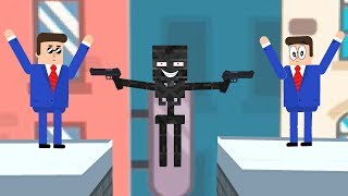 Mr Bullet Game  - Minecraft Animation