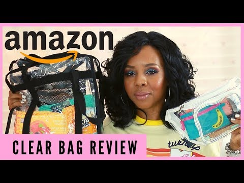 AMAZON GREAT FINDS ♡CLEAR FANNIE PACK & SHOULDER BAG REVIEW