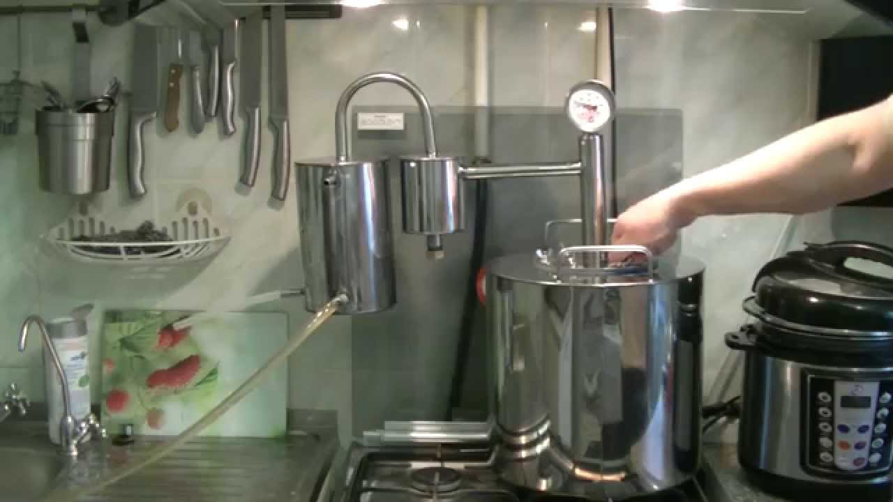 Видео Самогонный аппарат «домашний»