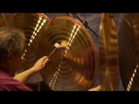 "Celestial Gong 30 minute Meditation Five Celestial Gongs 1-20""/2-24""/2-28"""
