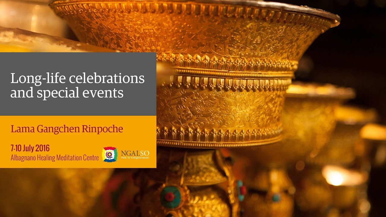 Long-life Puja e and mantras concert