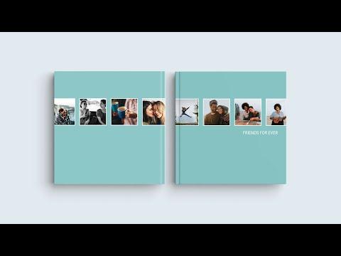 Inspirace pro obal Vaší fotoknihy - 'Přátelé navěky'