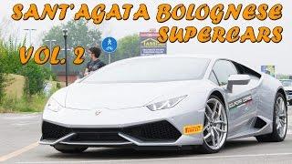preview picture of video 'SANT'AGATA BOLOGNESE SUPERCARS - Vol. 2 (3x Aventador, 5x Huracan, Superleggera, etc ... ) 2014 HQ'