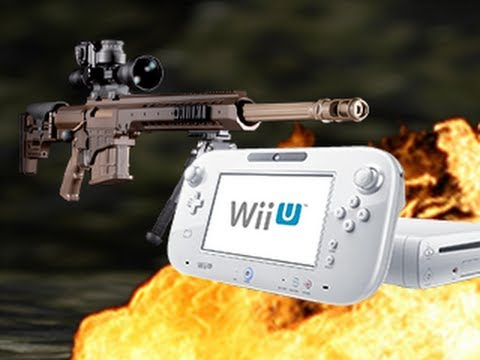 Dude Blows Up A Wii U With C4
