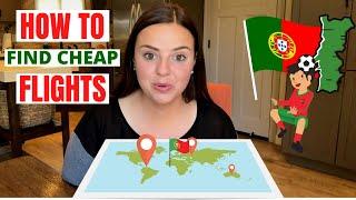 HOW TO GET CRAZY CHEAP FLIGHTS // SFO TO LIS (PORTUGAL, AZORES, MADEIRA