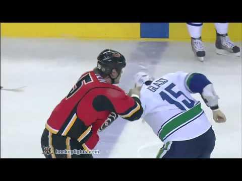 Tanner Glass vs Tim Jackman