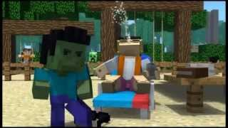 """""""Minecraft Style"""" - A Parody of PSY's Gangnam Style 1 hour (With animation)"""