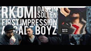 RKOMI   DASEIN SOLLEN | FIRST IMPRESSION  REACTION  (FADA & BARLOW )