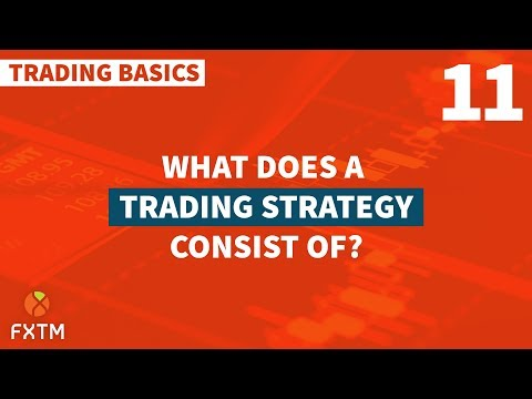 What does a Trading Strategy Consist of? — Trading Basics