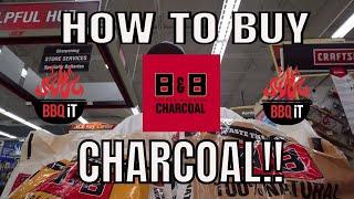 HOW TO BUY B&B CHARCOAL & WOOD ANYWHERE!!