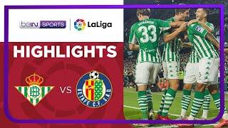 Real Betis 2-0 Getafe Pekan 7