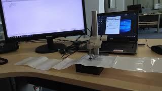 Παχυμέτρηση Φιλμ με USB Probe TESA
