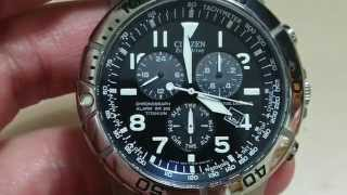 Citizen Eco-Drive BL5250-02L Perpetual Calendar Chrono Mens Watch Review