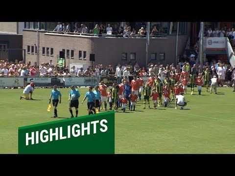 Samenvatting SV Honselersdijk - ADO Den Haag 1-8 (29-06-19)