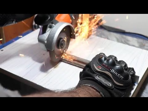 how to make angle grinder stand