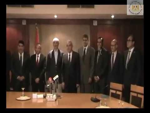 الوزير/طارق قابيل يشهد توقيع 3 اتفاقيات بين مجلس التدريب الصناعى و3 شركات بهدف تدريب وتشغيل 1100شاب