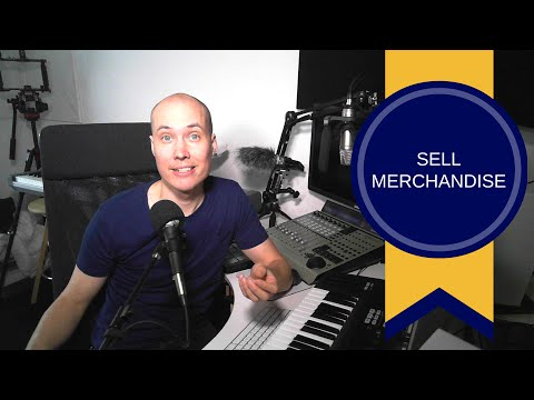 Sell Merchandise and Make Money as an Artist