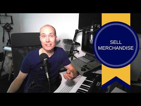 Sell Merchandise and Make Money as an Artist