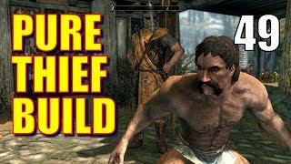 Skyrim Pure Thief Build Walkthrough Part 49: Mercer Frey Boss Fight!