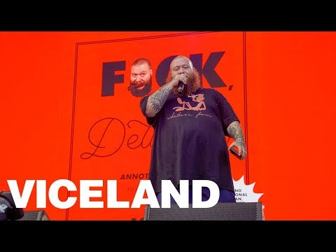 How Action Bronson Got Banned from the VICELAND Bus