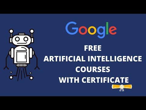 Free Artificial Intelligence Courses with Certificate | Google Free AI ...